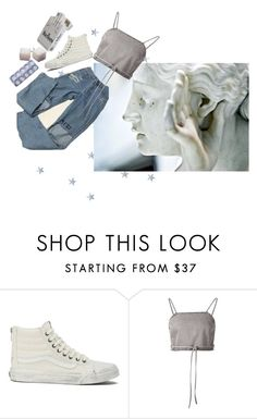 """""""really? why?"""" by damndizzy ❤ liked on Polyvore featuring The Wild Unknown, Vans and Shaina Mote"""