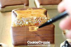 CookieCrazie: Pirate Treasure Chest Cookies (Tutorial)