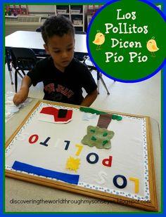 "Learning Spanish through Latin Children's Song ""Los Pollitos Dicen Pío, Pío, Pío"""