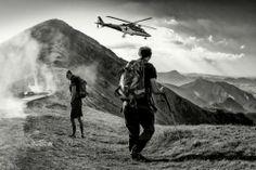 """mountain rescue . .""  by Matej Rumansky"