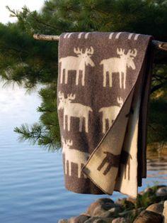Blanket from Klippan of Sweden