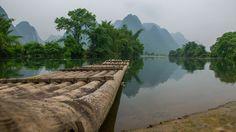 Rafting, Bamboo, River, Mountains, Nature, Outdoor, Outdoors, Naturaleza, Outdoor Games