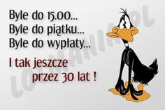 Byle do... Weekend Humor, Motto, Good Morning, Quotations, Haha, Coaching, Funny Quotes, Wattpad, Thoughts