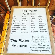 The Rules for Children by Bev Bos, educator and advocate for play-based learning in preschool. Environment Journal, Classroom Environment, Classroom Setup, Play Based Learning, Learning Through Play, Early Learning, Teacher Inspiration, Classroom Inspiration, Toddler Class