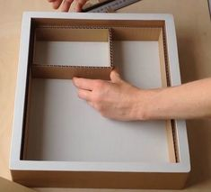 DIY How to make a cardboard drawer organizer HD (corrugated cardboard furniture) - box building Best Picture For clay crafts For Your Taste You are looking for something, and it is - Cardboard Drawers, Cardboard Box Crafts, Diy Drawers, Cardboard Furniture, Paper Crafts, Diy Storage Boxes, Craft Storage, Extra Storage, Decorative Storage Boxes