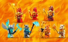 70146 Flying Phoenix Fire Temple - Products - Chima LEGO.com
