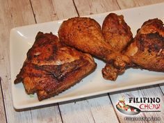 This is Fried Chicken (Pritong Manok). Fried chicken can be cooked in so many ways in all the different cultures around the world. It may be breaded, coated with flour/batter or naked (no breading).   RECIPE: https://goo.gl/oJs2eg