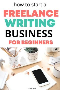 Work from home and start a freelance writing business so you can gain writing jobs from home. Online Writing Jobs, Freelance Writing Jobs, Easy Online Jobs, Tips Online, Business Checks, Business Tips, Jobs For Women, Creative Jobs, Business Motivation