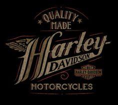 Harley-Davidson Quality Made - Art of Marco Almera Harley Davidson Decals, Harley Davidson Quotes, Harley Davidson Wallpaper, Harley Davidson Motorcycles, Ideas Para Logos, Harley Tattoos, Motorcycle Logo, Harley Davison, Vintage Biker