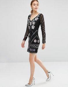 Frock and Frill | Frock and Frill Embellished Mini Dress