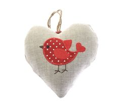 Handmade Embroidered Hearts made to order, gifts birthdays, decorative, nursery decor Embroidered Gifts, Cupboard Handles, Twine, Nursery Decor, Robin, Birthday Gifts, Baby Shoes, Coin Purse, Birthdays