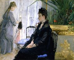 Interior Berthe Morisot - 1872