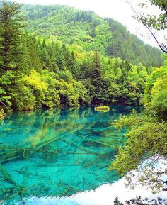 Jiuzhaigou Valley is a nature reserve in the north of Sichuan, a province in south western China. It is known for its many multi-level waterfalls and colorful lakes, and was declared a UNESCO World Heritage Site in 1992. It belongs to the category V (Protected Landscape) in the IUCN system of protected area categorization.