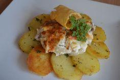 Fotorecept: Krehké bravčové mäso Russian Recipes, Potato Salad, Cauliflower, Recipies, Pork, Food And Drink, Potatoes, Cooking Recipes, Eggs