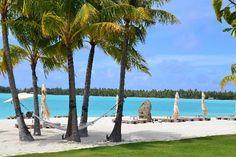 The St. Regis Bora Bora Resort: beach