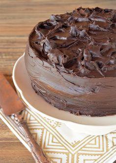 Torta de chocolate y naranja / Tres Tenedores