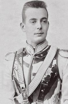 Grand Duke Andrei Vladimirovich as a teenager
