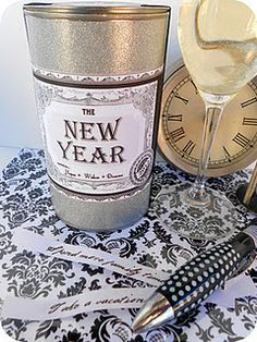 New Year's Time Capsule. I had a similar idea — but I like this one even better!
