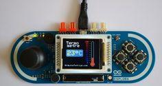 Arduino Esplora Thermometer