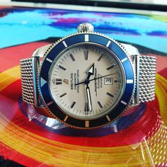 Buy Breitling Superocean heritage 46 with bitcoin @ www.bitwatch.nl