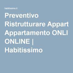 Preventivo Ristrutturare Appartamento ONLINE | Habitissimo