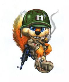 Conker Live And Reloaded, Video Game Tattoos, Heroes United, Warrior Tattoos, Gaming Tattoo, Conkers, Shadow The Hedgehog, Mario And Luigi, Old Games