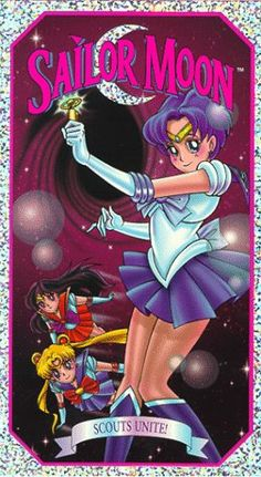 Sailor Moon: Scouts Unite! [VHS] Buena Vista Home Ent