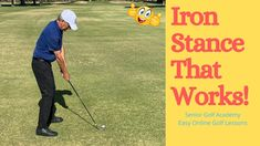 If You Are Having Iron Stance Trouble, Here Is An Iron Stance That Works Great Every Time Because It Is So Repeatable and Easy To Do! Whether you are a Senior Golfer, Lady Golfer, Beginning Golfer, or Weekend Player, This Iron Stance Will Work For You! For So Many More Great Golf Tips And Easy [...] The post Iron Stance That Works appeared first on FOGOLF. Golf Stance, Golf Academy, Golf Lessons, Play Golf, News Online, Golf Tips, Work On Yourself, The Cure, It Works