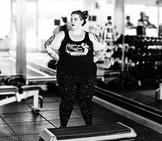 15 Thoughts Plus Size Women Have At The Gym Because Working Out Takes Some Working Things Out