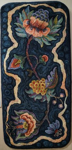 Fish Eye Rugs: Catherine Henning •Featured Artist • Hooked in the Mountains 2012