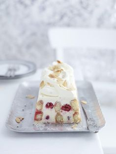 Mascarpone and Raspberry Trifle Terrine
