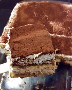 Cold Desserts, Italian Desserts, Candy Recipes, Sweet Recipes, Greek Pastries, Greek Sweets, Chocolate Pies, Dessert Bread, Summer Treats