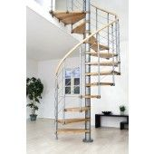 Oslo Grey Spiral Stair (Diameters available: 1200, 1400 & 1600mm)