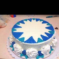 Gel work.. Dq cake