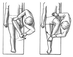 Hip Rotation Diagram | thePTDC | Hip Flexibility Exercises