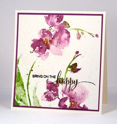 May Flowers by Heather T - Cards and Paper Crafts at Splitcoaststampers