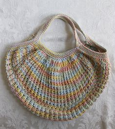 Ravelry: Market Bag (Knit) pattern by Lily / Sugar'n Cream - membership required to view