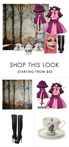 """""""cheshire Cat (Claire)"""" by chap15906248 ❤ liked on Polyvore featuring Chinese Laundry and Mrs Moore's Vintage Store"""