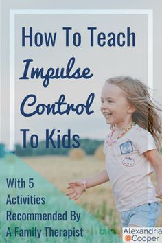 Help your kid develop with these 5 impulse control activities! activities Impulse Control Activities For Kids: Teaching The Basics Parenting Advice, Kids And Parenting, Parenting Courses, Natural Parenting, Peaceful Parenting, Foster Parenting, Gentle Parenting, Parenting Quotes, Impulse Control