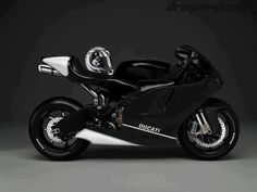 Black Ducati. But with red trim instead of white.