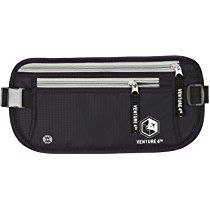 Travel Money Belt - Keeps Your Cash Safe When Traveling - Hidden Waist Passport Holder With RFID Blocking Technology Is Designed For Superior Anti-Theft Protection and Comfort