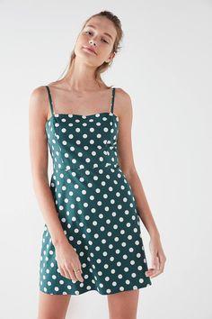 9ad61f64058fbb Kimchi Blue Rae Poplin Straight-Neck Mini Dress
