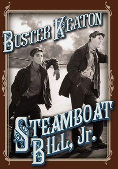 Buster Keaton films, find them at DVD.com, including Steamboat Bill, Jr., The Navigator, Seven Changes.