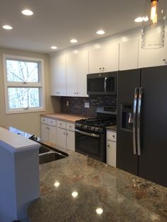 Shaw - Main Level Kitchen Remodel in Waterford CT www.shawremodeling.com #kitchen #remodel #renovation #waterford #ct