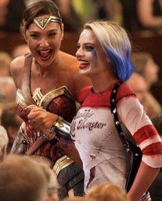 Harley Quinn & Wonder Woman