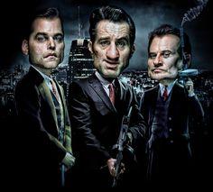 Fan art Uno de los Nuestros (Goodfellas) by DeviantArt #UnodelosNuestros #Goodfellas #TheGoodfellas #RobertdeNiro #Scorsese #RayLiotta #JoePesci #Mafia #CosaNostra #Gangsters