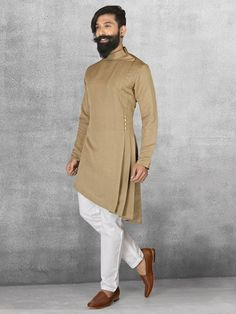 Pathani suit design for mens Sherwani For Men Wedding, Wedding Dresses Men Indian, Wedding Dress Men, Nigerian Men Fashion, Indian Men Fashion, Mens Fashion Suits, Gents Kurta Design, Boys Kurta Design, Kurta Pajama Men