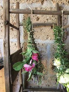 Come fare uno smudge stick con erbe aromatiche e fiori #smudgestick #diy #tutorial #lavender #sage #rosemary #rose