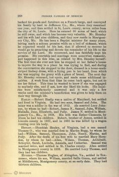A History of the Pioneer Families of Missouri, Page 296 | Document Viewer = page 297