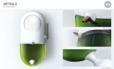 LOCAL ALGAE CULTURE by Matthieu Nollet, via Behance